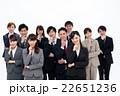 ビジネスウーマン 笑顔 ビジネスマンの写真 22651236