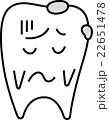 歯くん-困る 22651478