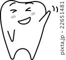 歯くん-ばいばーい 22651481