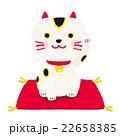 招き猫 左利き 22658385