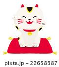 笑顔の招き猫 22658387