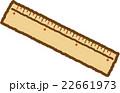 竹ものさし 22661973