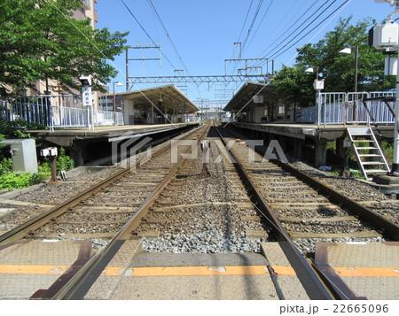 線路と駅 22665096