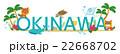 沖縄のロゴ 22668702