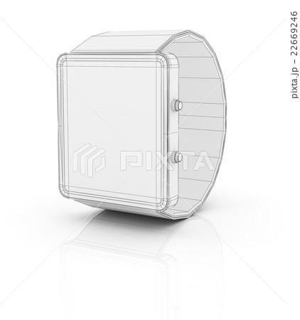 Smart watch prototype, template for designのイラスト素材 [22669246] - PIXTA