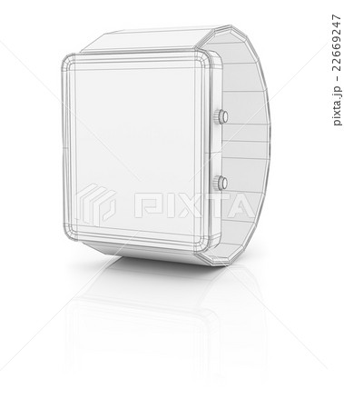Smart watch new technology electronic deviceのイラスト素材 [22669247] - PIXTA
