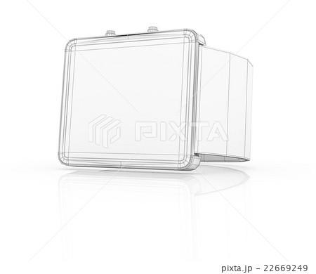 Smart watch prototype, template for designのイラスト素材 [22669249] - PIXTA