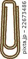 クリップ(緑) 22673486