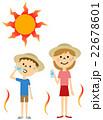 熱中症対策するこども 22678601