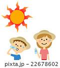 熱中症 対策 子どものイラスト 22678602
