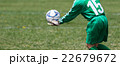 サッカー フットボール 22679672