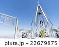 札幌もいわ山の「幸せの鐘」を鳴らす女の子 22679875