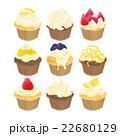 お菓子 ケーキ スイーツのイラスト 22680129