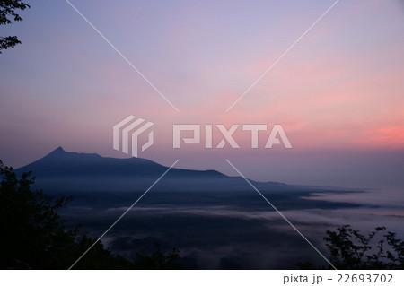 日暮山の雲海 22693702