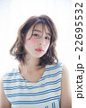 女性 ポートレート ヘアモデルの写真 22695532