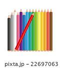 色鉛筆 22697063