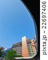 東京 新宿駅西口 -ロータリー地下からの風景- 22697406