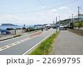 鎌倉 江ノ島と江ノ電が見える場所 22699795