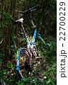 棄てられた自転車 22700229