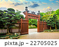 庭園 アジア人 アジアンの写真 22705025