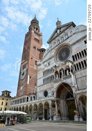 古都クレモナの大聖堂と鐘楼(トラッツオ) 22709720