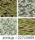 Seamless camouflage patterns (green) 22710889