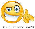 Cool emoticon pointing at you 22712873