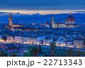 フィレンツェ 街並み サンタ・マリア・デル・フィオーレ大聖堂の写真 22713343