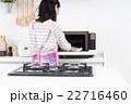 主婦(掃除-電子レンジ) 22716460