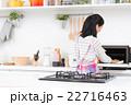 主婦(掃除-電子レンジ) 22716463