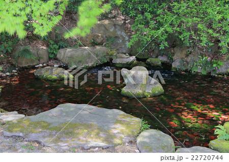 栗林公園、水源の湧水「吹上」 22720744