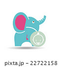 baby shower icon design  22722158