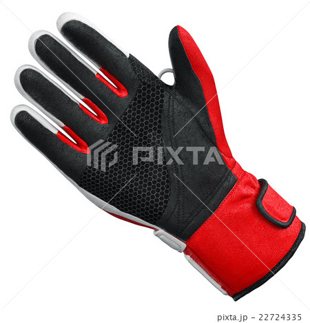 Ski sports glove one isolated, front viewのイラスト素材 [22724335] - PIXTA