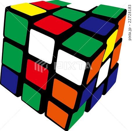 ルービックキューブのイラスト素材 22728183 Pixta