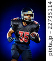 american football player man isolated 22735114
