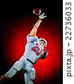 american football player man isolated 22736033