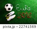 サッカー 玉 スポーツシューズの写真 22741569