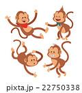 動物 さる サルのイラスト 22750338