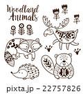 動物 デコラティブ 装飾的のイラスト 22757826
