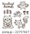動物 デコラティブ 装飾的のイラスト 22757827