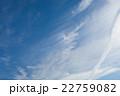 初夏の青空と雲 22759082