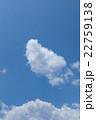 初夏の青空と雲 22759138