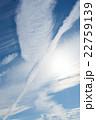初夏の青空と雲 22759139