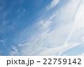 初夏の青空と雲 22759142