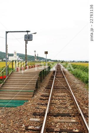 富良野線 無人駅(鹿内駅) 22763136