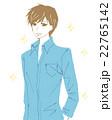 イケメン風の青年のイラスト 22765142