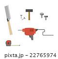 工具のセット 22765974