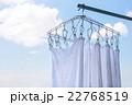 洗濯 タオル 青空の写真 22768519