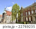 ポストプラッツに建つ郵便局と聖母教会(ドイツ・ゲルリッツ) 22769235