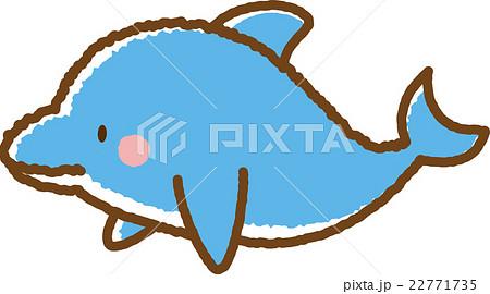 イルカのイラスト素材 22771735 Pixta